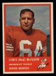 1963 Fleer #88  Bud McFadin  Front Thumbnail