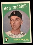 1959 Topps #179  Don Rudolph  Front Thumbnail