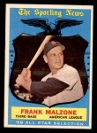 1959 Topps #558   -  Frank Malzone All-Star Front Thumbnail