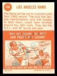 1963 Topps #48   Rams Team Back Thumbnail