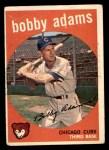 1959 Topps #249  Bobby Adams  Front Thumbnail