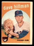 1959 Topps #319  Dave Hillman  Front Thumbnail