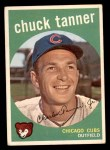 1959 Topps #234  Chuck Tanner  Front Thumbnail