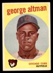 1959 Topps #512  George Altman  Front Thumbnail