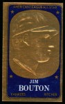 1965 Topps Embossed #25  Jim Bouton  Front Thumbnail