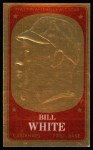 1965 Topps Embossed #43   Bill White   Front Thumbnail