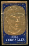 1965 Topps Embossed #33   Zoilo Versalles   Front Thumbnail