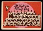 1959 Topps #94   White Sox Team Checklist Front Thumbnail