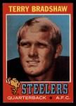 1971 Topps #156  Terry Bradshaw  Front Thumbnail