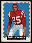 1964 Topps #16  Ross OHanley  Front Thumbnail