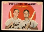 1959 Topps #34   -  Al Kaline / Charley Maxwell Pitchers Beware Front Thumbnail