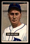 1951 Bowman #105  Don Kolloway  Front Thumbnail