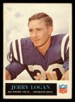 1965 Philadelphia #5  Jerry Logan   Front Thumbnail