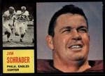 1962 Topps #121  Jim Schrader  Front Thumbnail