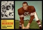 1962 Topps #31  John Morrow  Front Thumbnail