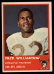 1963 Fleer #63  Fred Williamson  Front Thumbnail