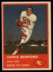 1963 Fleer #49  Chris Buford  Front Thumbnail