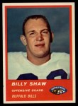 1963 Fleer #28  Billy Shaw  Front Thumbnail