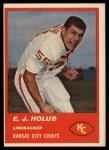 1963 Fleer #52  EJ Holub  Front Thumbnail