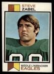 1973 Topps #317  Steve Zabel  Front Thumbnail