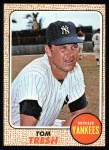 1968 Topps #69  Tom Tresh  Front Thumbnail