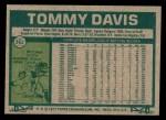 1977 Topps #362  Tommy Davis  Back Thumbnail