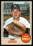 1968 Topps #89  Jake Gibbs  Front Thumbnail