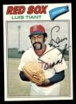 1977 Topps #258  Luis Tiant  Front Thumbnail