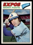 1977 Topps #612  Barry Foote  Front Thumbnail