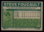 1977 Topps #459  Steve Foucault  Back Thumbnail