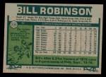1977 Topps #335  Bill Robinson  Back Thumbnail