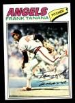 1977 Topps #200  Frank Tanana  Front Thumbnail