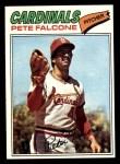1977 Topps #205  Pete Falcone  Front Thumbnail