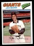 1977 Topps #609  Jim Barr  Front Thumbnail