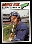 1977 Topps #443  Lamar Johnson  Front Thumbnail