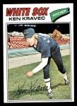 1977 Topps #389  Ken Kravec  Front Thumbnail