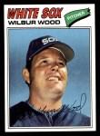 1977 Topps #198  Wilbur Wood  Front Thumbnail