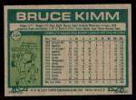 1977 Topps #554  Bruce Kimm  Back Thumbnail