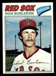 1977 Topps #585  Rick Burleson  Front Thumbnail