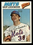 1977 Topps #65  Skip Lockwood  Front Thumbnail