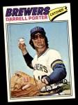 1977 Topps #214  Darrell Porter  Front Thumbnail