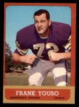 1963 Topps #102  Frank Youso  Front Thumbnail