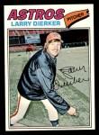 1977 Topps #350  Larry Dierker  Front Thumbnail