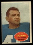 1960 Topps #35  L.G. Dupre  Front Thumbnail