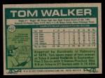 1977 Topps #652  Tom Walker  Back Thumbnail
