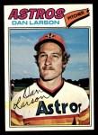1977 Topps #641  Dan Larson  Front Thumbnail