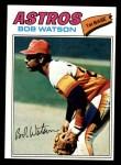 1977 Topps #540  Bob Watson  Front Thumbnail
