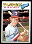 1977 Topps #608  Roy Howell  Front Thumbnail