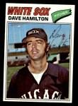 1977 Topps #367  Dave Hamilton  Front Thumbnail