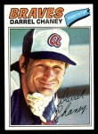 1977 Topps #384  Darrel Chaney  Front Thumbnail